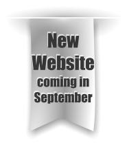 New Website coming in September